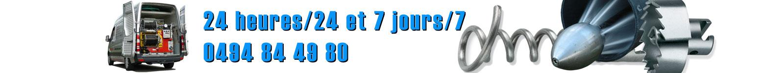 SOS Débouchage, 24h/24, 7 jours sur 7